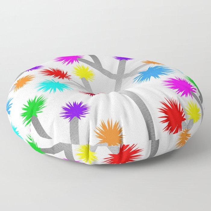 Joshua Tree Pom Poms by CREYES Floor Pillow
