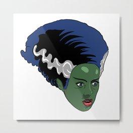 I Wish That I Had Frankie's Bride Metal Print