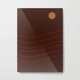 ABSTRACT FOURTEEN Metal Print