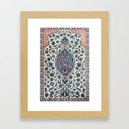 The Turbes of Hagia Sophia, Istanbul, Turkey Framed Art Print