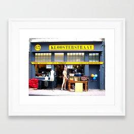 Kloosterstraat Framed Art Print