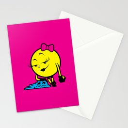 Ms. Pac-Man Stationery Cards