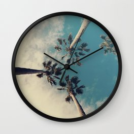 Palm tree, Tropical decor Wall Clock