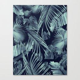 Tropical Jungle Leaves Dream #9 #tropical #decor #art #society6 Canvas Print