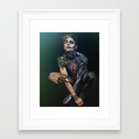 peter pan Framed Art Prints featuring Peter Pan by Art By Brandon McGill