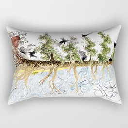 The Woods and The Water Rectangular Pillow