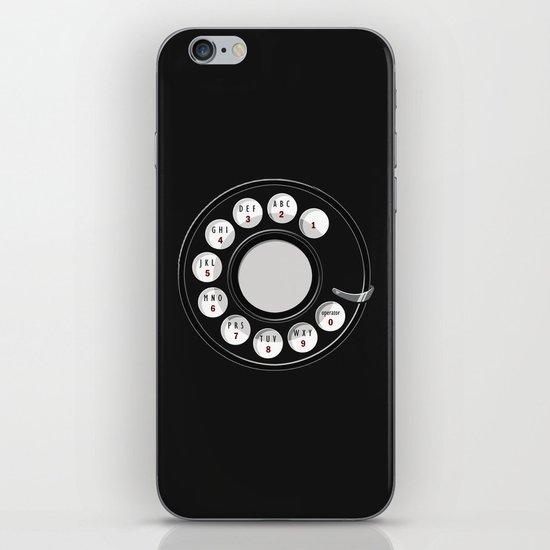 Rotary Me iPhone & iPod Skin