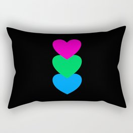 Polysexuality in Shapes Rectangular Pillow