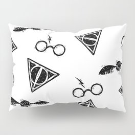 Glasses, Hallows, Seeker | HP Fan Art Collection Pillow Sham