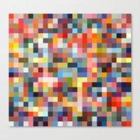 sprinkles Canvas Prints featuring Sprinkles by Stuff.