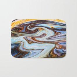 Marbled XVII Bath Mat