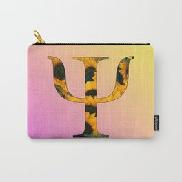 Psychology Psi Sunflower Carry-All Pouch