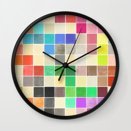 colorquilt 3 Wall Clock