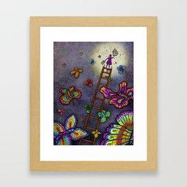 Ladder of Education Framed Art Print