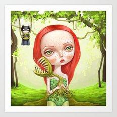 Poison Ivy Art Print