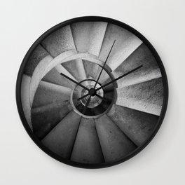 La Sagrada Familia Spiral Staircase Wall Clock