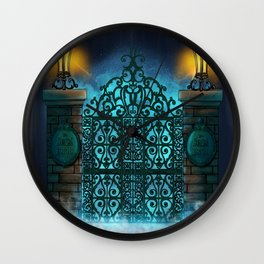 The Gate by Topher Adam 2017 Wall Clock