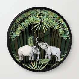 The Elephant Queens Wall Clock