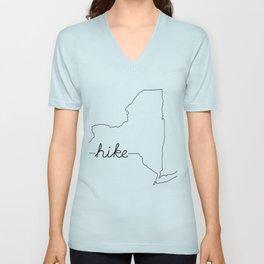 New York State HIKE Unisex V-Neck