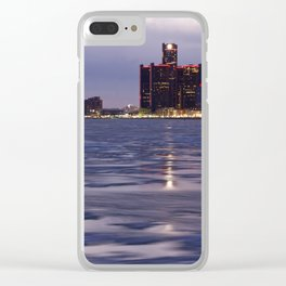 Icey Detroit Clear iPhone Case