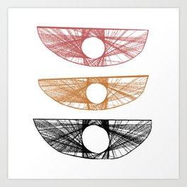 Troika no.7 Art Print