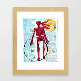 The dead can speak Framed Art Print