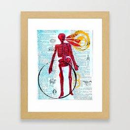 The dead can speak Framed Art Print