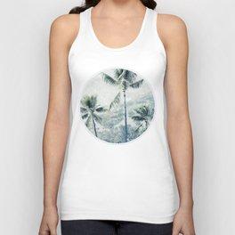 Reef palms Unisex Tank Top