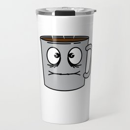 This is the Funny Coffee graphic saying Sleep is for the weak Tee design Best gift for coffee lovers Travel Mug