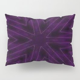 Eggplant Purple Pillow Sham