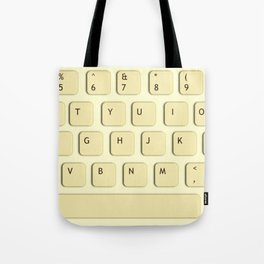 Press Keyboard Tote Bag