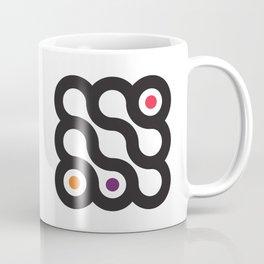 Circles 3x3 #4 Coffee Mug