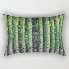 Green Pier Rectangular Pillow