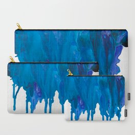 SPILLED OCEAN Carry-All Pouch