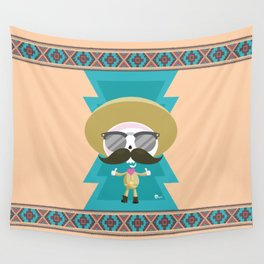 tribal sancho Wall Tapestry