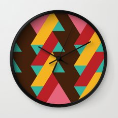 Ribbon Pattern 2 Wall Clock