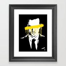 Moriarty Framed Art Print