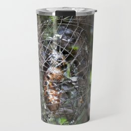 Lichen Moth Cocoon Travel Mug