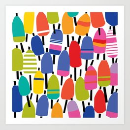 Buoy Wall Art Print
