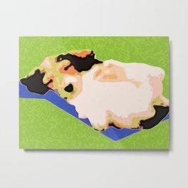 """""""Pie in the Sky: Lazy Daze"""" ~ Dachshund, Weiner Dog, Doxie, everywhere! Metal Print"""