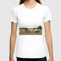 cows T-shirts featuring Cows by Falko Follert Art-FF77