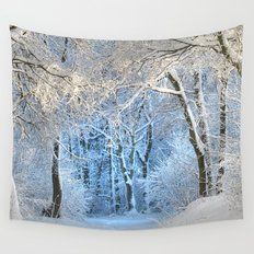 Another winter wonderland Wall Tapestry