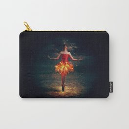 Bewitched Pretty Ballet Dancer Fiery Red Dress Dreamland UHD Carry-All Pouch