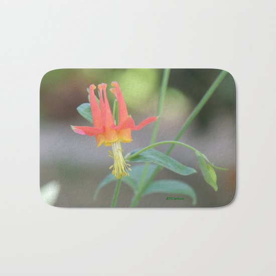 Pastel Columbine Afternoon Bath Mat
