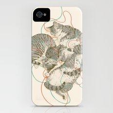 cats Slim Case iPhone (4, 4s)