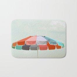beach umbrella Bath Mat