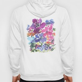 Pretty Poppy Patch Hoody