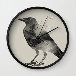 Raven Sky Wall Clock