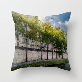 The Perfect Light, Paris France Throw Pillow