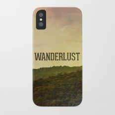 Wanderlust I Slim Case iPhone X